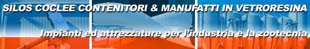 Dmg sas coclee carrellate zincate e coclee in acciaio inox for Attrezzature zootecniche usate